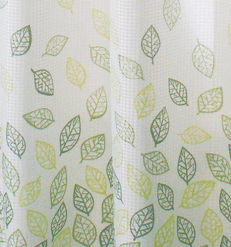 Interdesign 32721EU Verde Duschvorhang, grün