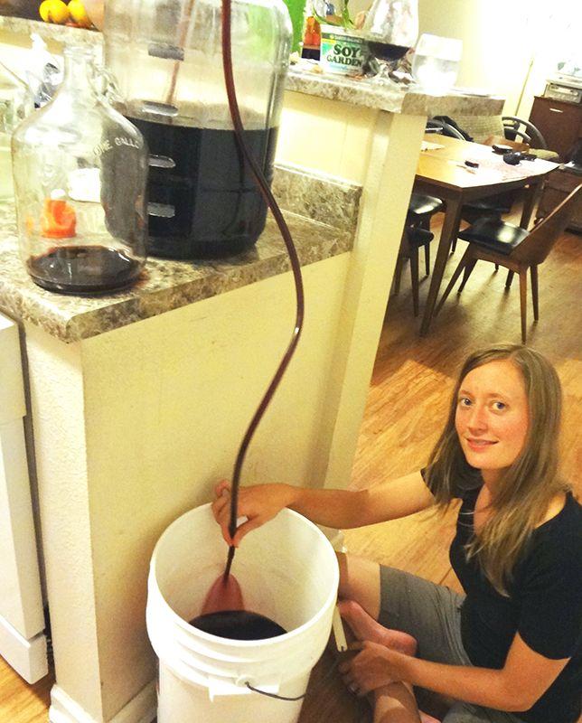 Don't waste homemade wine! Read this quick wine racking tip! | E. C. Kraus Winemaking Blog