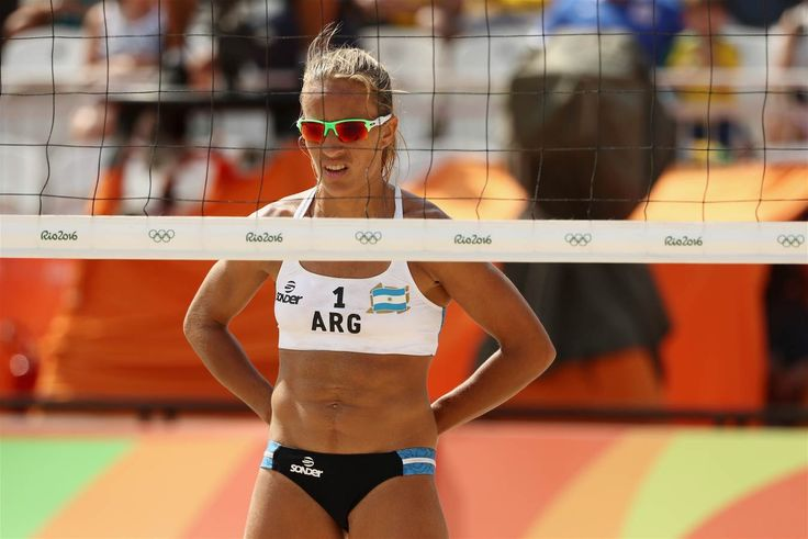 Gallay, Ana - Argentina, Brazil - Beach Volleyball - Argentina, Brazil - Women - Women's Preliminary - Pool B - BVA - Beach Volleyball Arena