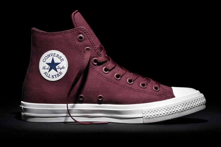 Converse Releases New Chuck II Colors for Fall - Converse Chuck Taylor All Star II Thunder Bordeaux