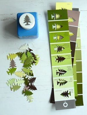 LOVE!  I also like the thought of making cards out of the strips somehow.  Would be great to do Christmas light bulb shapes too.