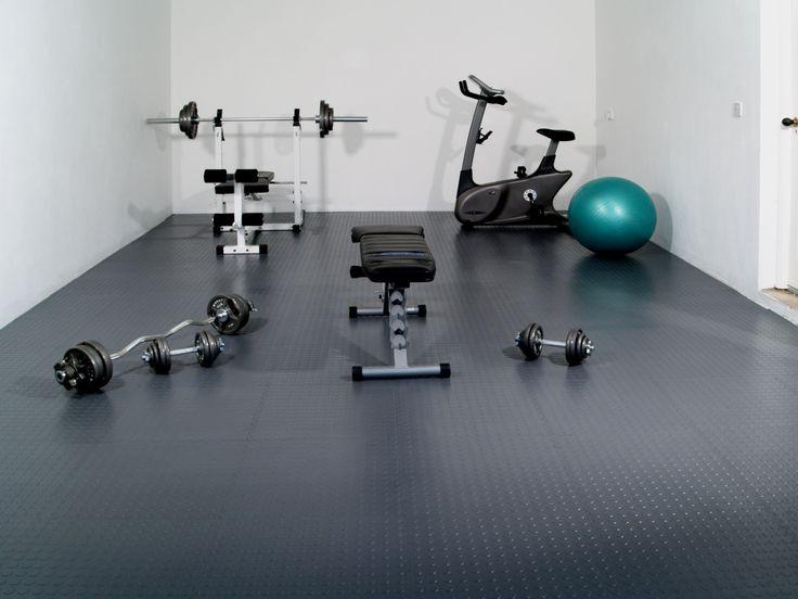 Beautiful Home Gym Flooring Ideas