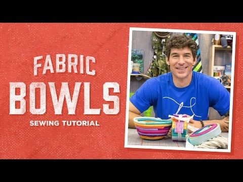 Free Motion Basics: Easy Quilting Instruction with Rob Appell of Man Sewing - YouTube