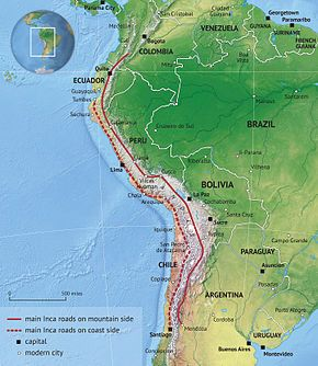 Inca road system - Wikipedia, the free encyclopedia