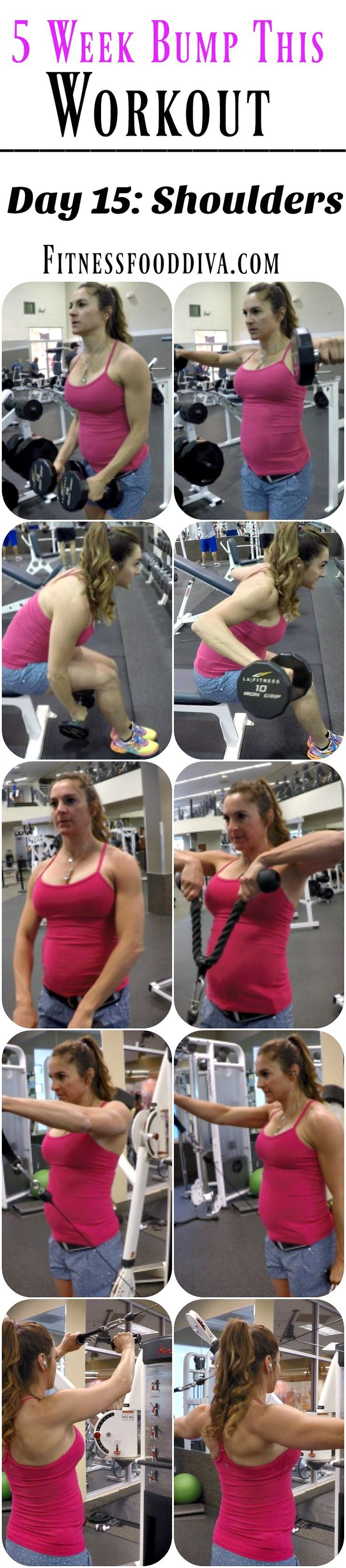 5 Week Bump This Workout: Day 15 SHOULDERS