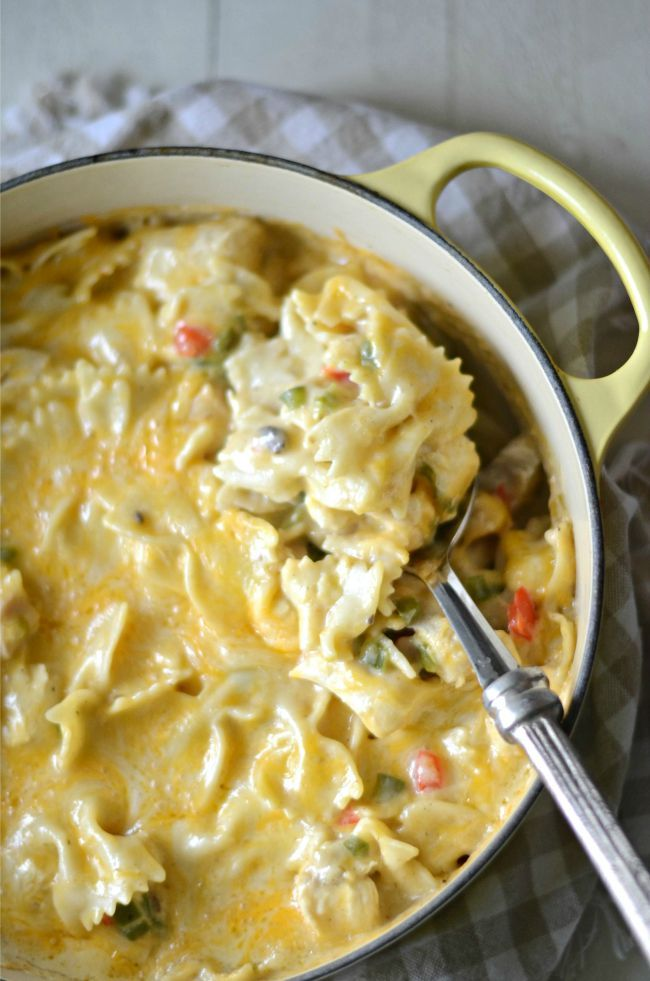 Cajun Chicken Casserole (with Cheese) Recipe — Dishmaps