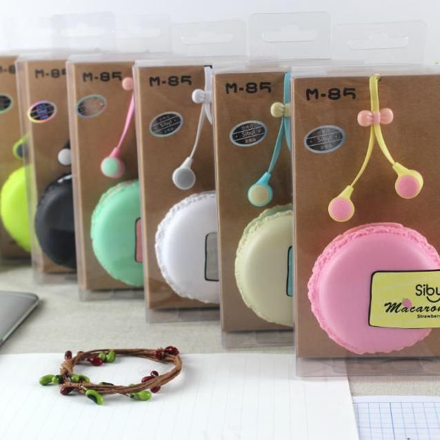 M85 macaroon colors noodle earphones in ear monitor earbuds audifonos bests headphones with storage box ear phones free shipping-in Earphones & Headphones from Consumer Electronics on Aliexpress.com | Alibaba Group