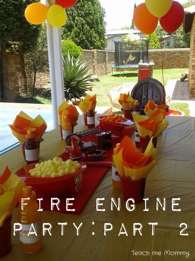 Today I will share some more detail with you about the my son's first birthday party: a Fire engine Party. The previous post I did on this party includes more photos and an overview of it all. Find it here. First up, the tin buckets. I bought these already painted, but you can paint your …