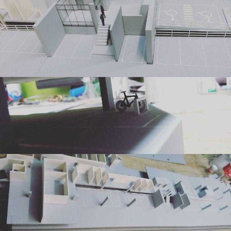 EDIFICIO DE OFICINAS ESC. 1:100 #Colectivo.ciego #colectivodearquitectura #maqueta #zda #model #arquitectura #arquitecturamx #escala #scale #building #miniatura #handmade #cortelaser #makete #maqueteando #maquettes vía hunderwaser