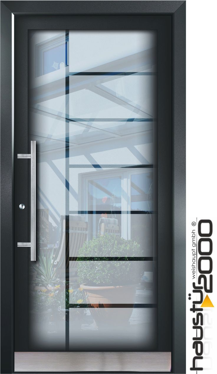 Eingangstüren glas  Die besten 25+ Aluminium haustüren Ideen auf Pinterest | Aluminium ...