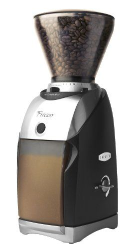 I love this!  Finally can make great French Press coffee.  Baratza Preciso Coffee Grinder 685 - http://teacoffeestore.com/baratza-preciso-coffee-grinder-685/