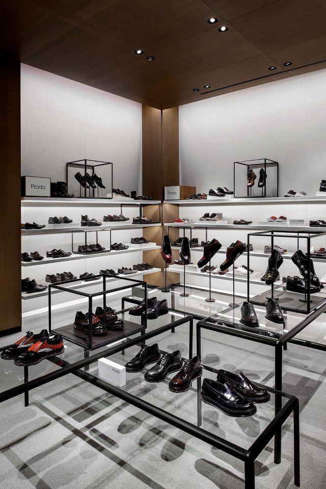 selfridges shoe gallery london by vincent van duysen