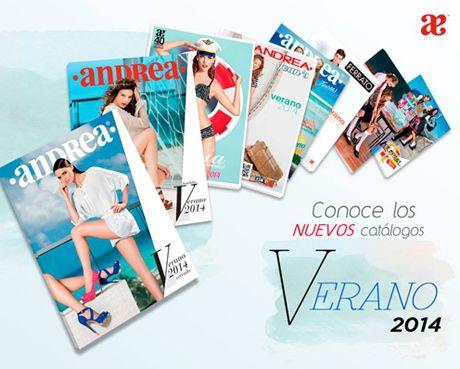 catalogos andrea 2014 verano zapatos y ropa