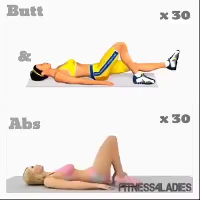 Butt and Abs Workout  – Laura Harper