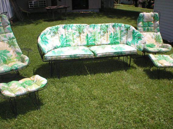 Vintage Homecrest Mid Century 5Pcs Patio Set