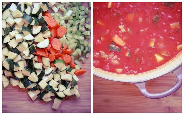 tomato zucchini soup by joy the baker | Recipes & Food | Pinterest
