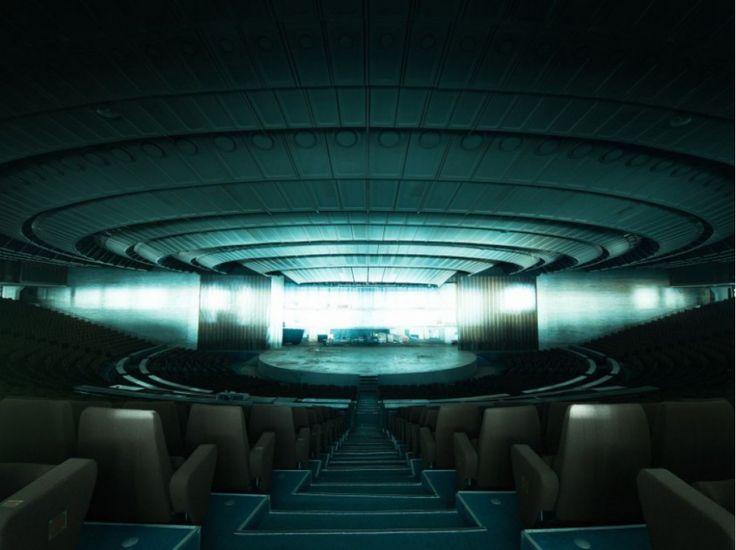 "Le vaisseau-mère ""Linnahall : salle de concert à Tallinn, Estonie. David de Rueda"