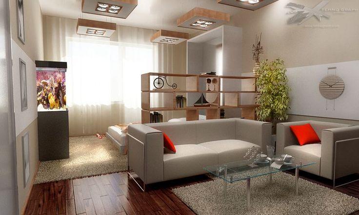 дизайн зала-спальни в квартире фото: 19 тыс изображений найдено в Яндекс.Картинках