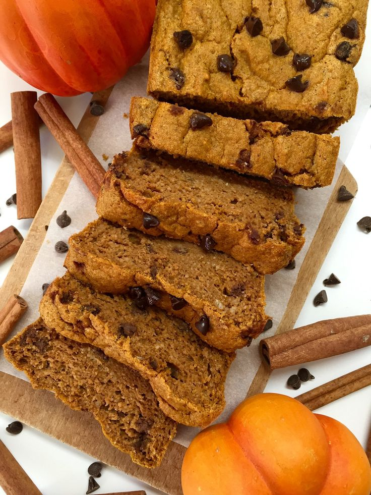 ​Pumpkin Bread Épicé aux pépites de Chocolat – The Fit Feline