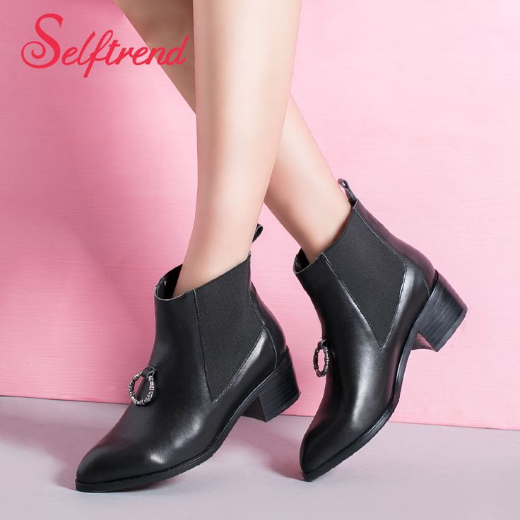 Find More Boots Information about New women's boots fashion female shoes autumn and spring ankle PU boots heels woman sapatos femininos botas femininas 4,High Quality shoes snow boots,China boots shoes women Suppliers, Cheap shoes men boots from ATT store on Aliexpress.com