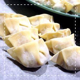 中国人に聞いた♡簡単綺麗な餃子の包み方