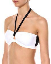 Vero Moda Intimates MISTRAL BANDEAU – bikini bandeau – Hvid