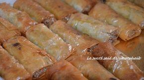 samoussa comorien à la viande hachée et à la pâte filo