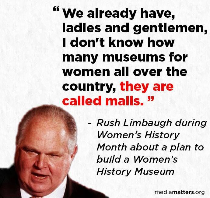 How can anyone say Rush Limbaugh isn't smart?