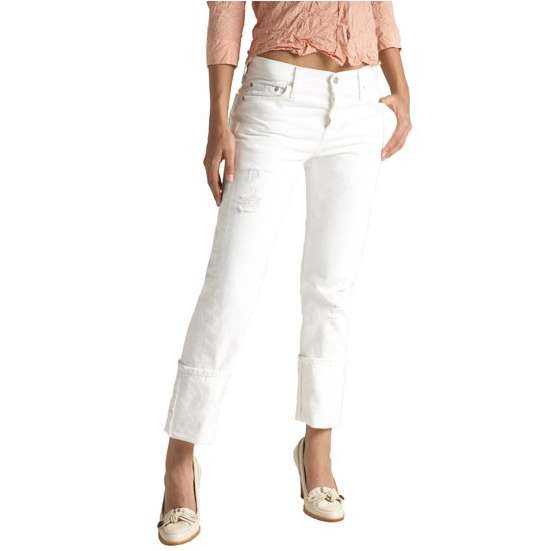"""Does anyone else remember the song """"White Levis?"""" I will always have a pair of white jeans within reach!"""