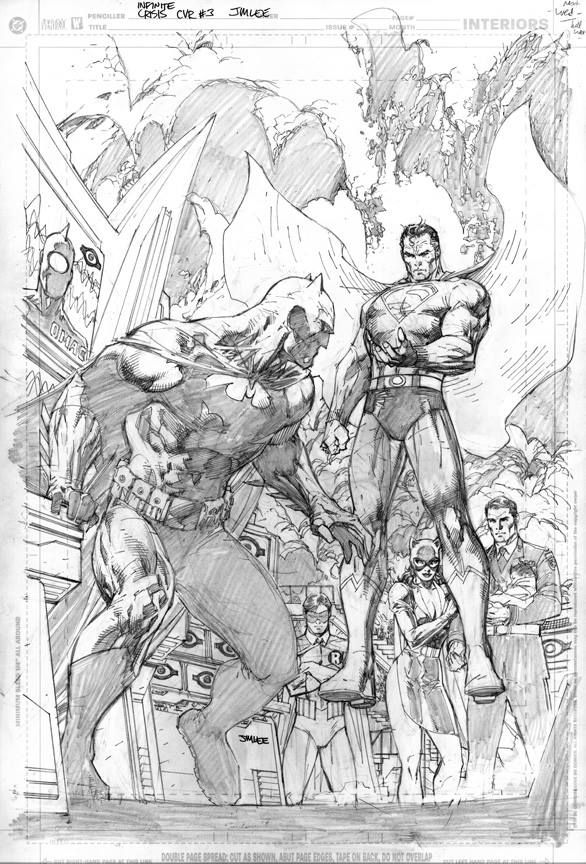 Infinite Crisis #3 (2006) by Jim Lee *