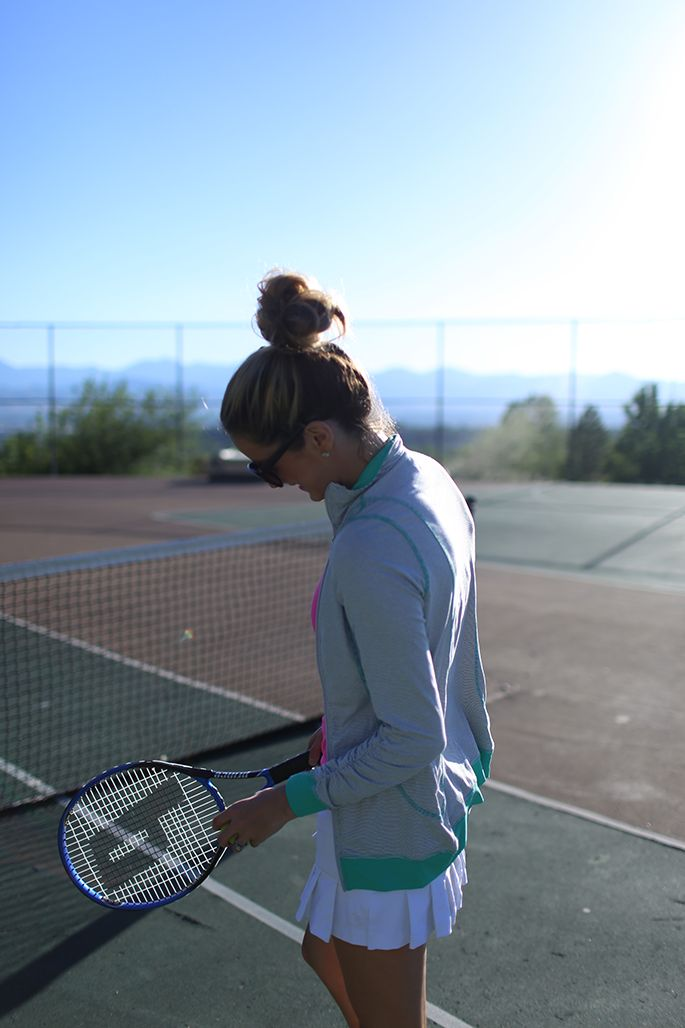 If Daisy had to play a sport, I think she would play tennis because it would keep her fit and also is a sport that has cuter outfits than most other sports.