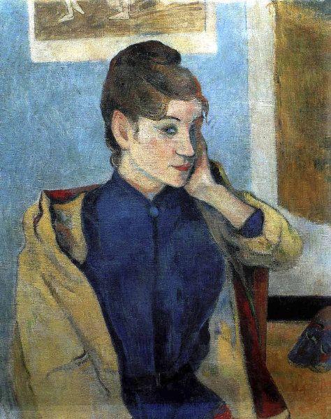 Paul Gauguin - Post Impressionism - Madeleine Bernard - 1888
