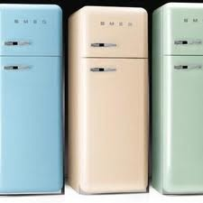 SMEG retro køleskab - så fed