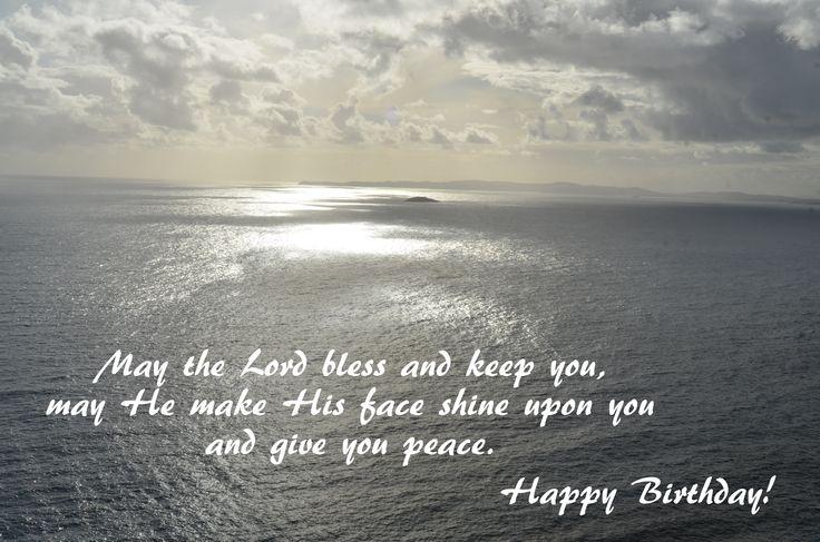 Happy Birthday - sunrise at sea