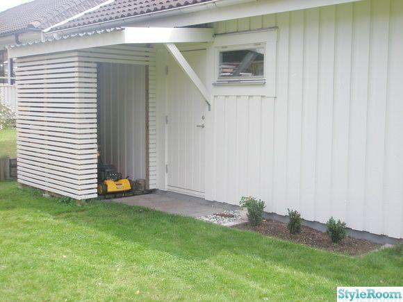 Nice shed. vedförråd,vedskjul