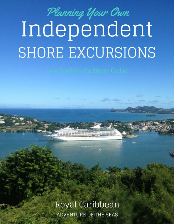 Planning Your Own Shore Excursions, Southern Carriean Cruise, Adventure of the Seas
