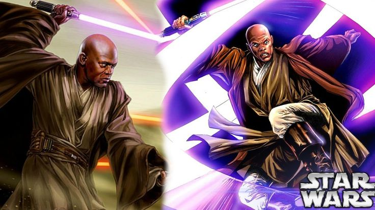 Mace Windu's Lightsaber Fighting Style - Star Wars Explained - YouTube