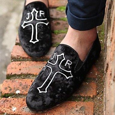 scarpe da uomo comodità punta tonda piatta tacco Mocassini in pelle scarpe più colori disponibili – EUR € 34.99