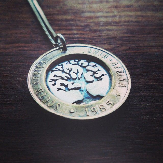 Tree of Life with coin border