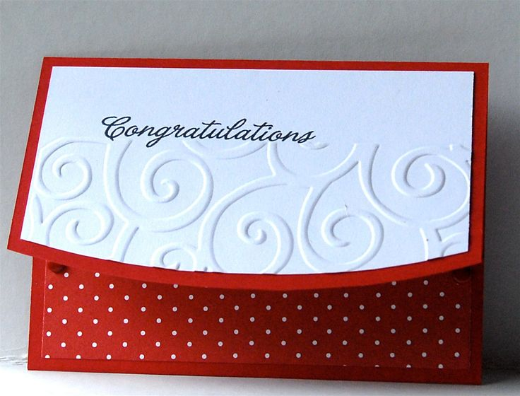 CONGRATULATIONS CARD HOLDERS Handmade goodness for store bought giftcards. $2.00, via Etsy.