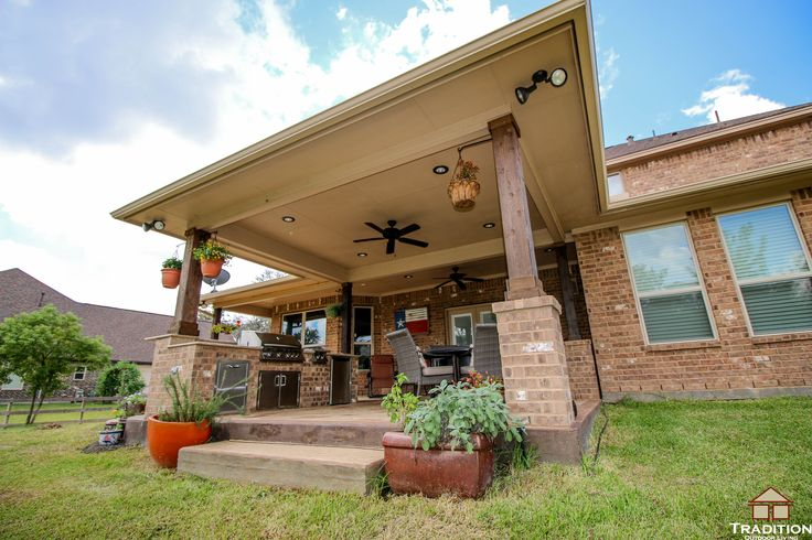 texas outdoor living covered patios 13 best Patio Covers built in Katy TX images on Pinterest