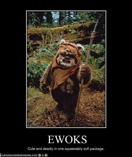 Original Ewok Stuffed Animal