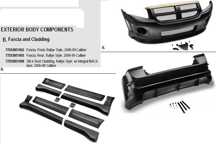 MOPAR Body KIT - Dodge Caliber SRT-4 Forums
