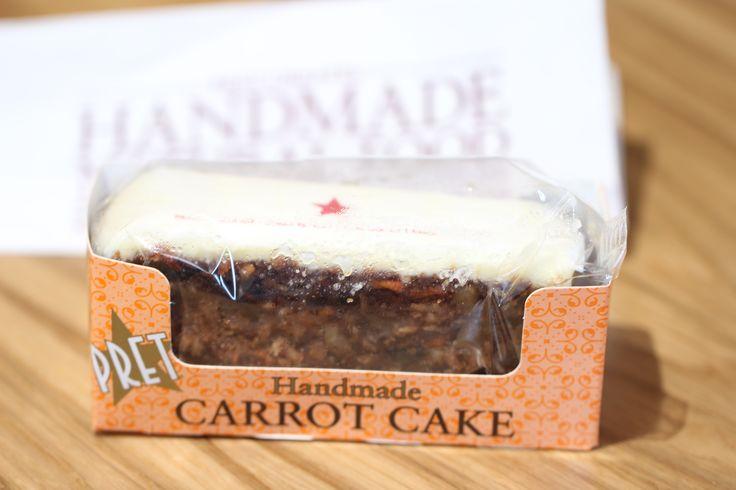 Carrot Cake Pret A Manger