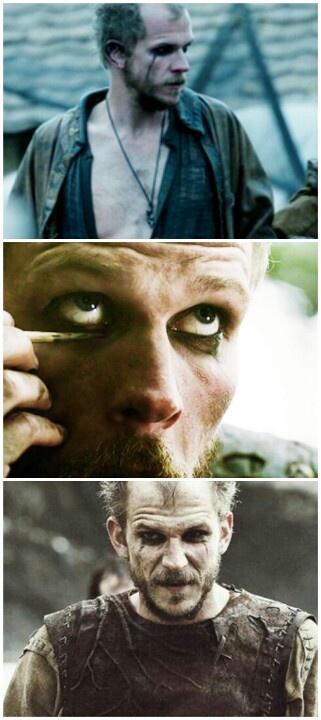 Gustaf Skarsgard #vikings #Floki