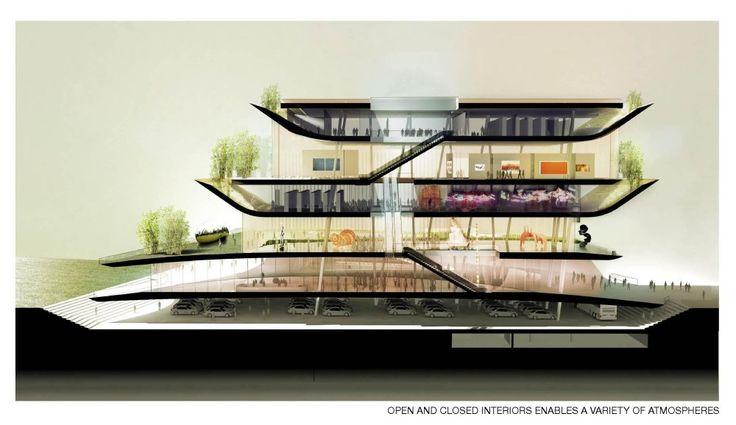 Taichung Cultural City Center Competition Entry / de Architekten Cie.