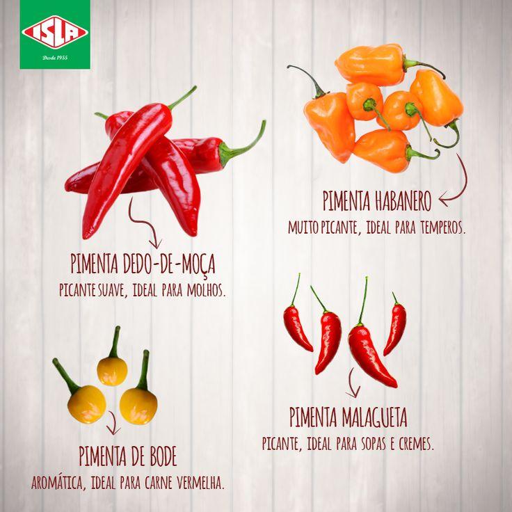 ABC das Hortaliças: Pimentas e mais pimentas!
