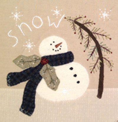 """Snowball"" FREE Pattern - Christmas Mystery Blog Hop"