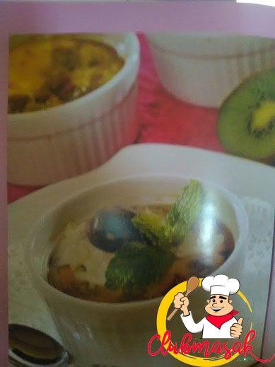 Resep Krim Puding Panggang, Sajian Keju Krim, Club Masak