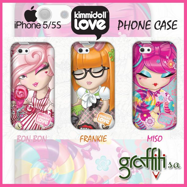 Θήκες για IPHONE Kimmidoll love από τη Graffiti! http://graffiti.gr/page/products_by_sub_cat/28/3/-kimmidoll-love/24 Δείτε επίσης υπέροχες κούπες Kimmidoll Love εδώ -> http://graffiti.gr/page/products_by_sub_cat/28/3/-kimmidoll-love/30